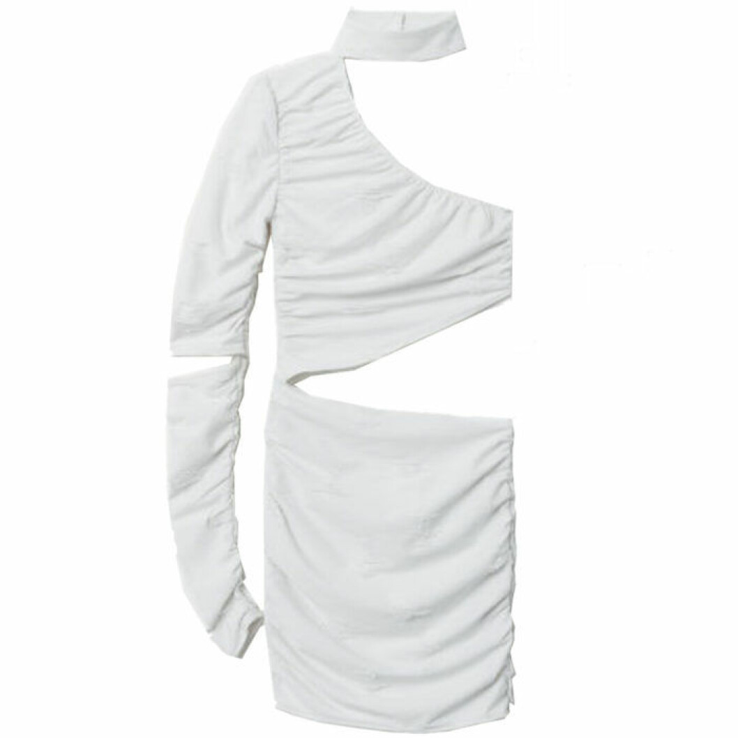 Halloweenklänning vit mumie