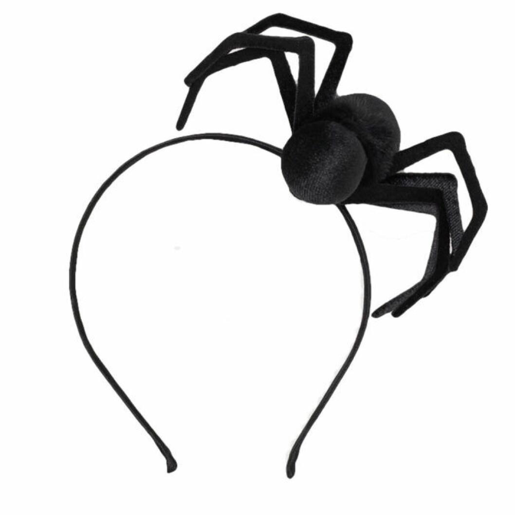 Diadem med en stor spindel