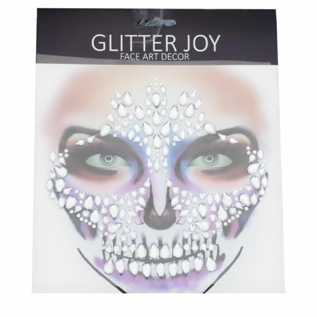 Glitterstenar till ansiktet halloween