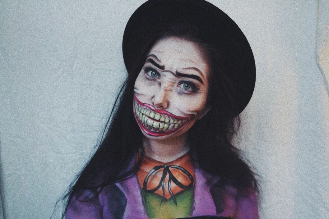 Tips på läskiga halloweensminkningar