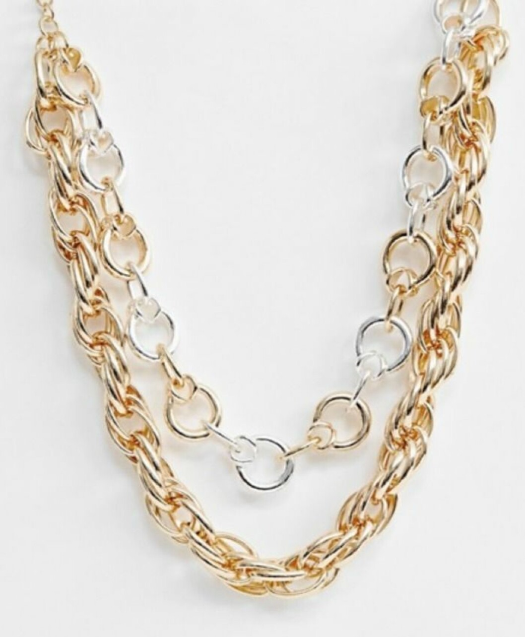 Halsband med kedjor för dam till 2019