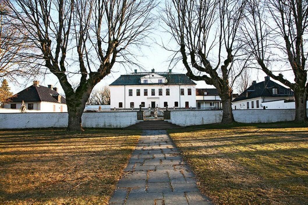 En bild på Häringe Slott i Haninge, Stockholm.