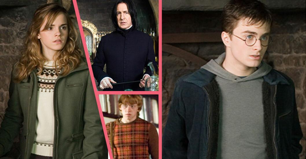 Harry Potter quiz! Vem är du mest lik? Ta reda på svaret här!