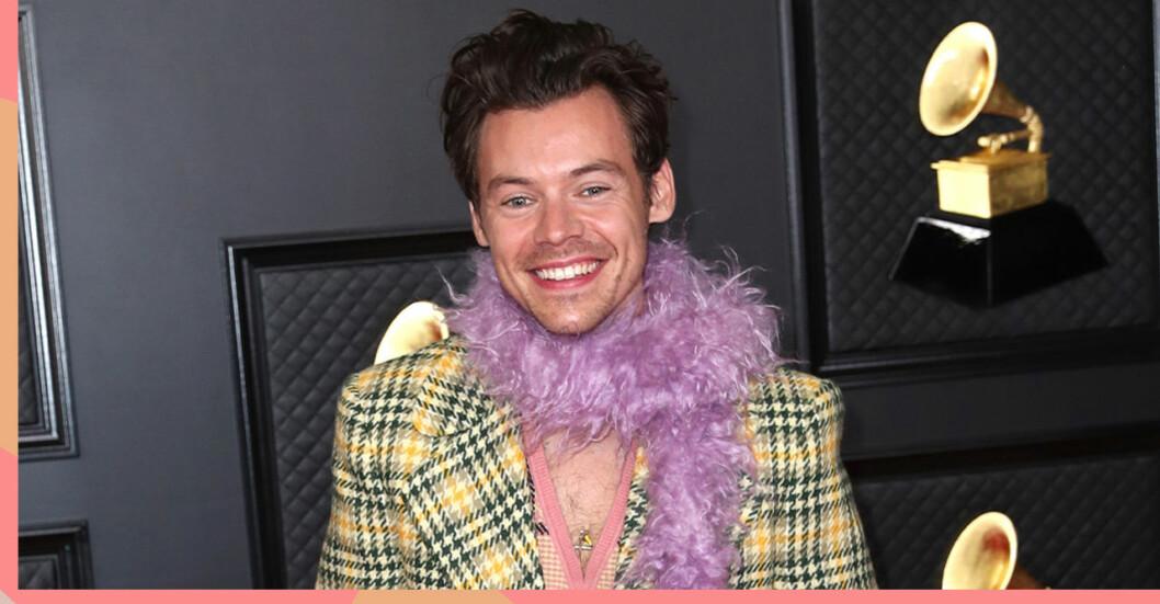 Harry Styles på grammisgalan
