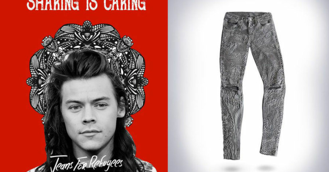 harry styles jeans auktion