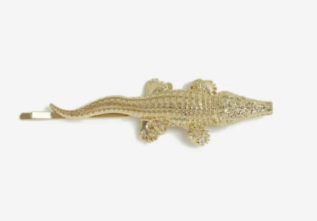 Hårspänne med krokodil för dam till 2019