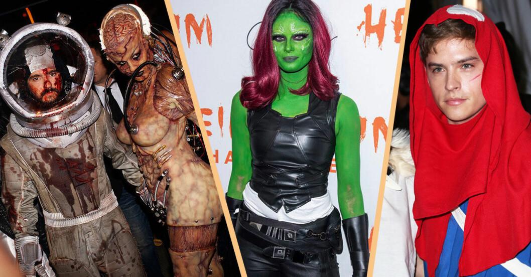 Heidi klums halloweenfest