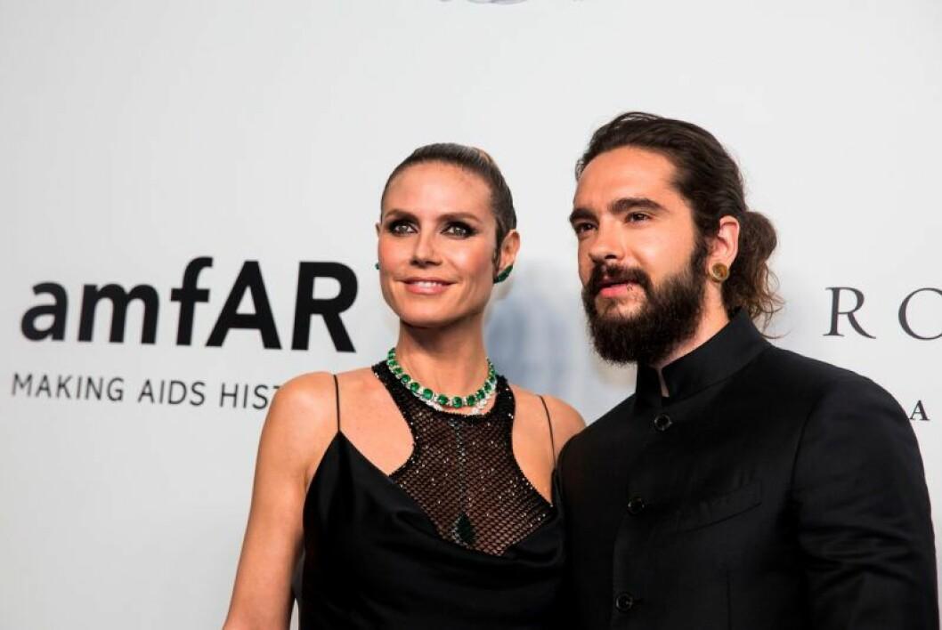 Heidi Klum och maken Tom Kaulitz.