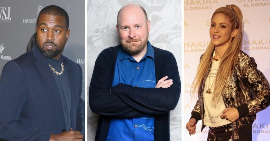 Henrik Dorsin, Kanye West och Shakira