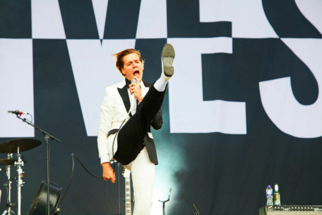 Howlin' Pelle från The Hives