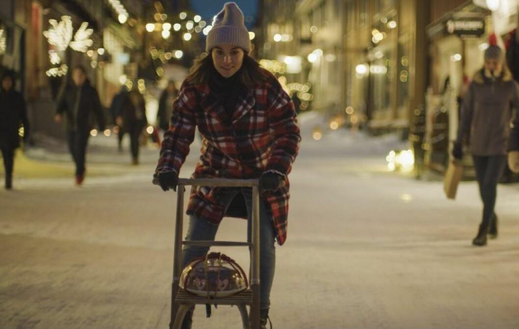 En bild ur den norska Netflix-serien Hjem til Jul.