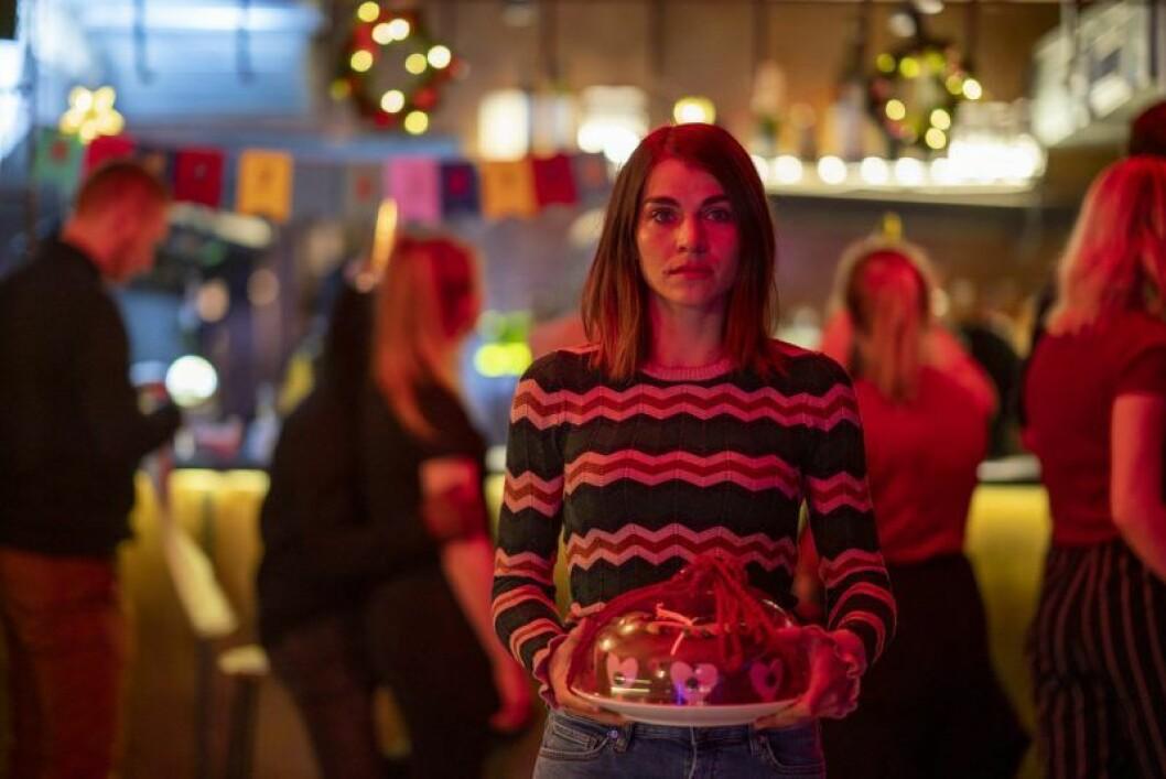 En bild på karaktären Johanne i Netflix-serien Hjem til Jul.