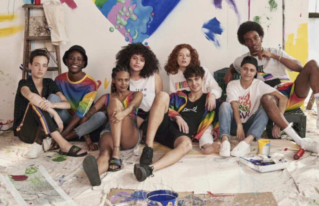 H&M släpper Pride-kollektion 2019