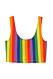 H&M:s pridekollektion 2019 – regnbågsfärgad topp