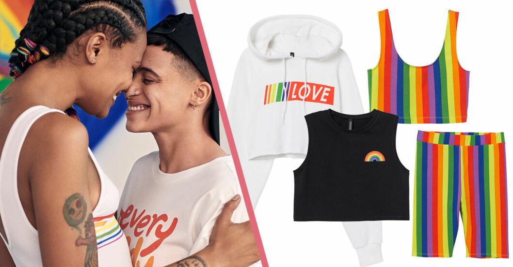 H&M släpper Pridekollektion 2019