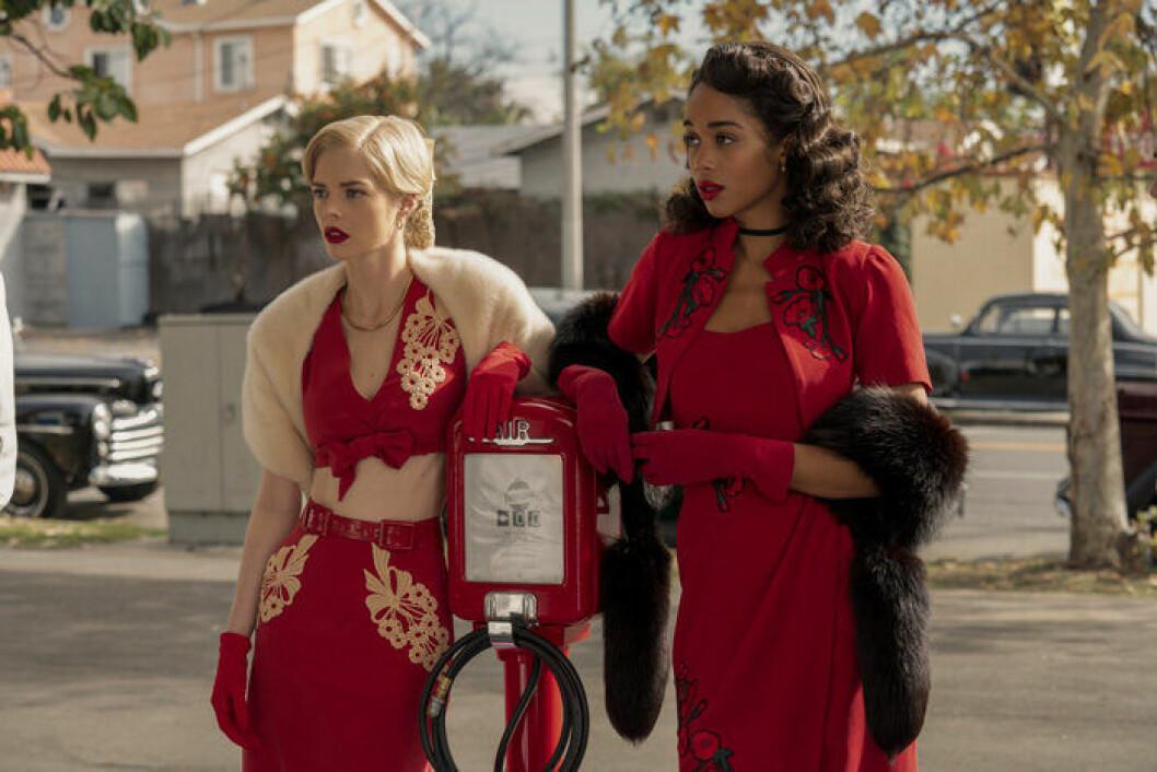 En bild från tv-serien Hollywood som har premiär på Netflix den 1 maj.