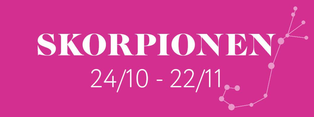 Horoskop för stjärntecknet Skorpionen