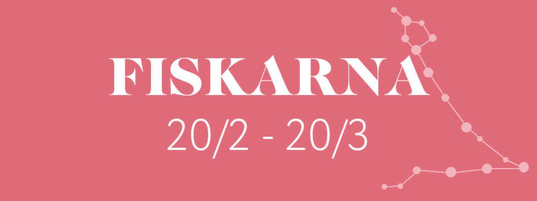 Horoskop vecka 4 2019 – Fiskarna