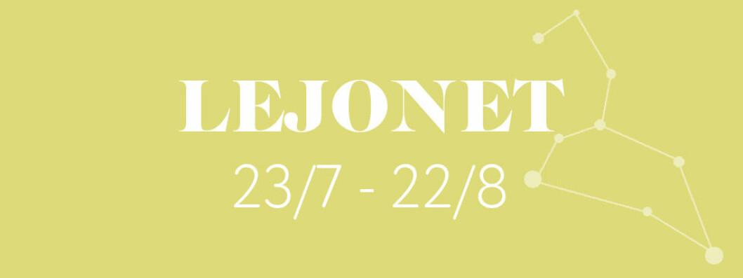 Horoskop vecka 4 2019 – Lejonet