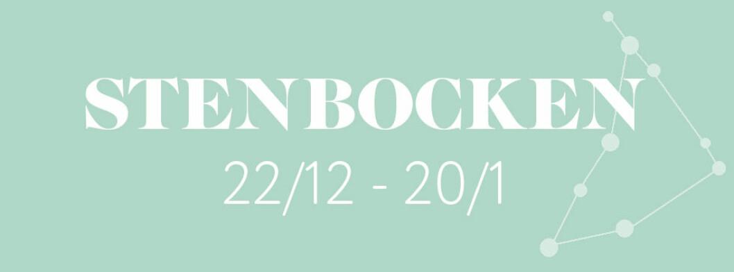 Horoskop vecka 17 2021 för stenbocken