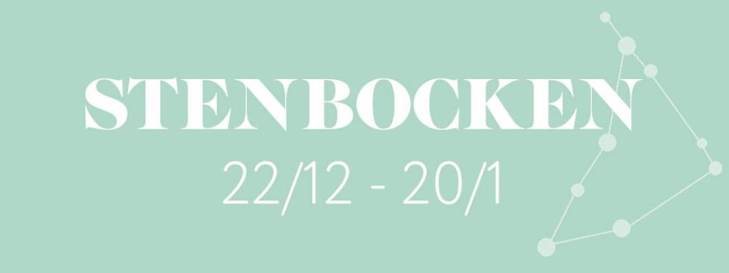 Horoskop vecka 4 2019 – Stenbocken