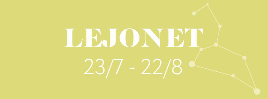 Horoskop vecka 17 2021 för lejonet