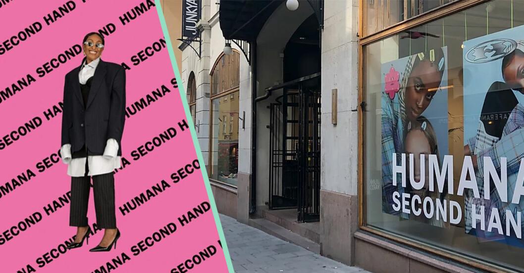 Humana second hand öppnar butik i Göteborg