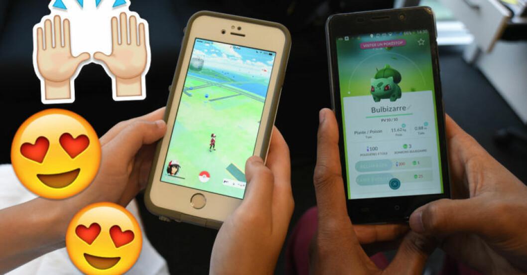 hur spelar man pokemon go