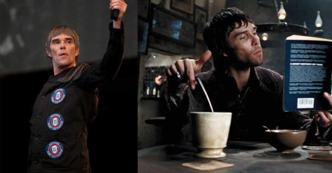 Ian Brown i Harry Potter