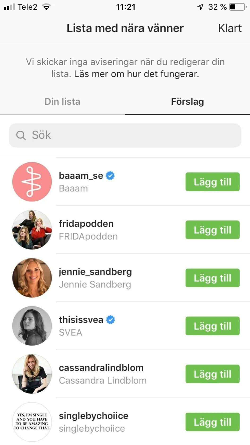 Gröna ringar instagram