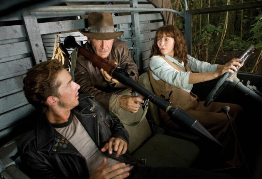 En bild ur en av Indiana Jones-filmerna, som har premiär på C More den 30 september 2019.