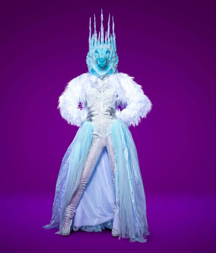 Isvargen i Masked Singer 2021