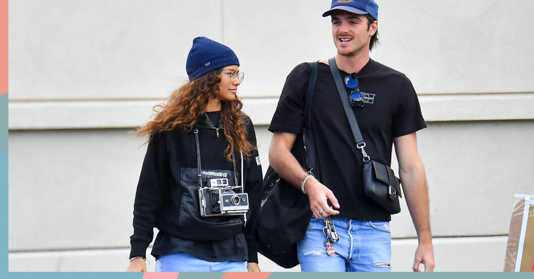 Jacob och Zendaya i Los Angeles