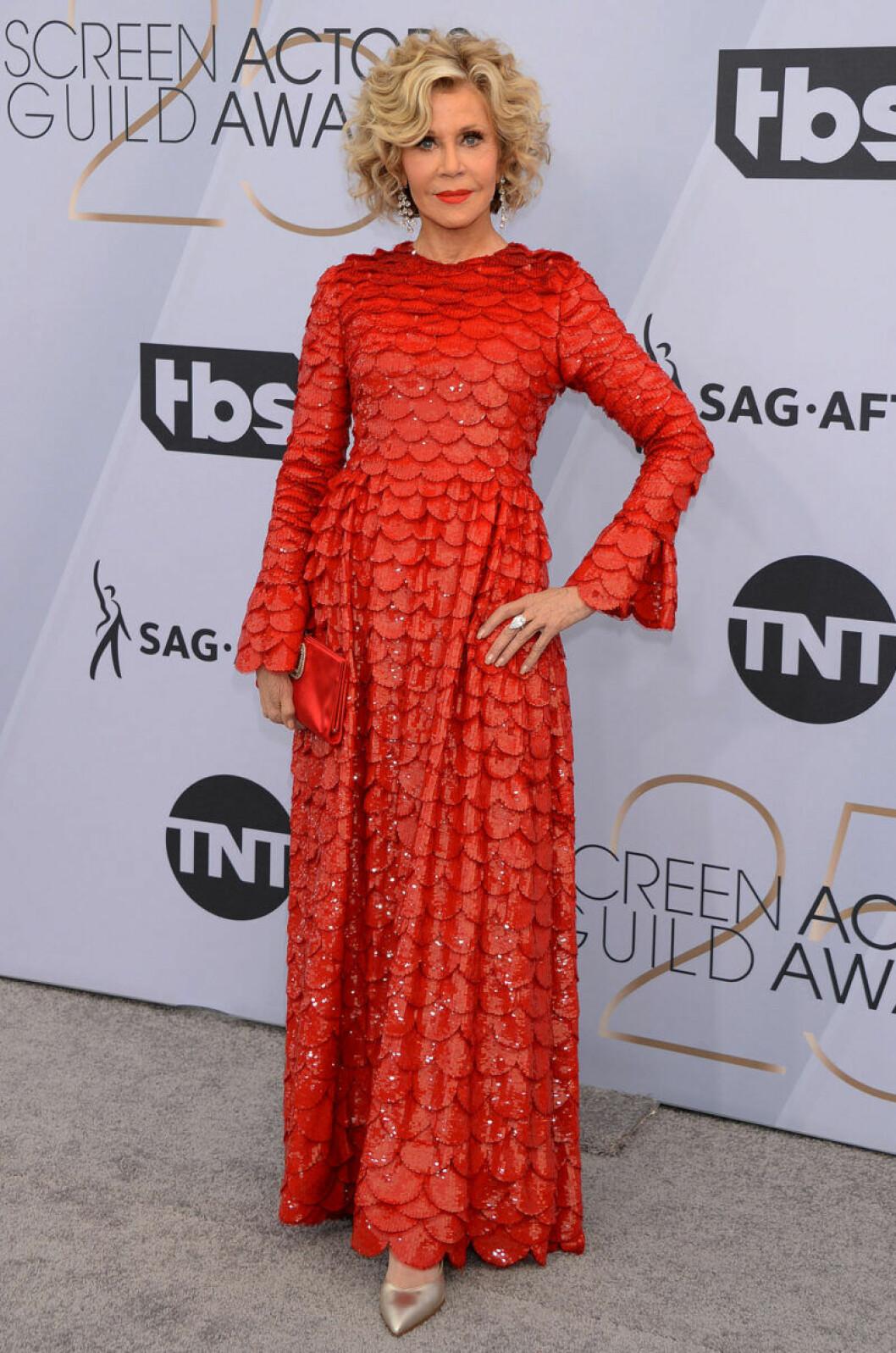 Röda mattan, Jane Fonda