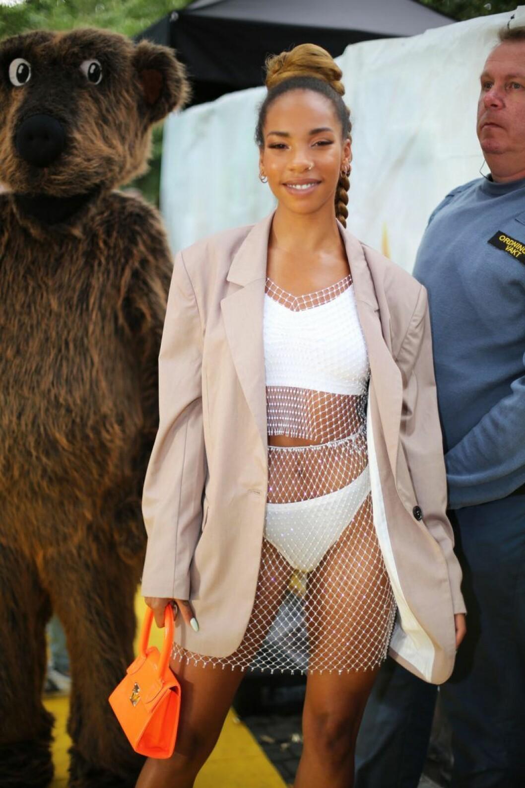 Janice Kavander på Rockbjörnen 2019