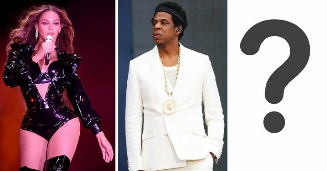 Jaz-Z, Beyoncé, ett frågetecken