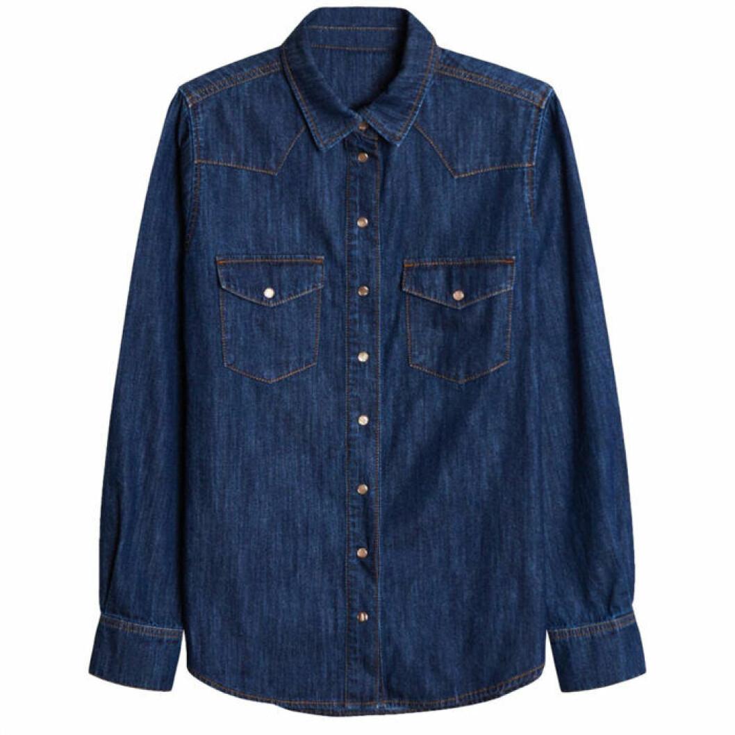 jeansskjorta från gina tricot