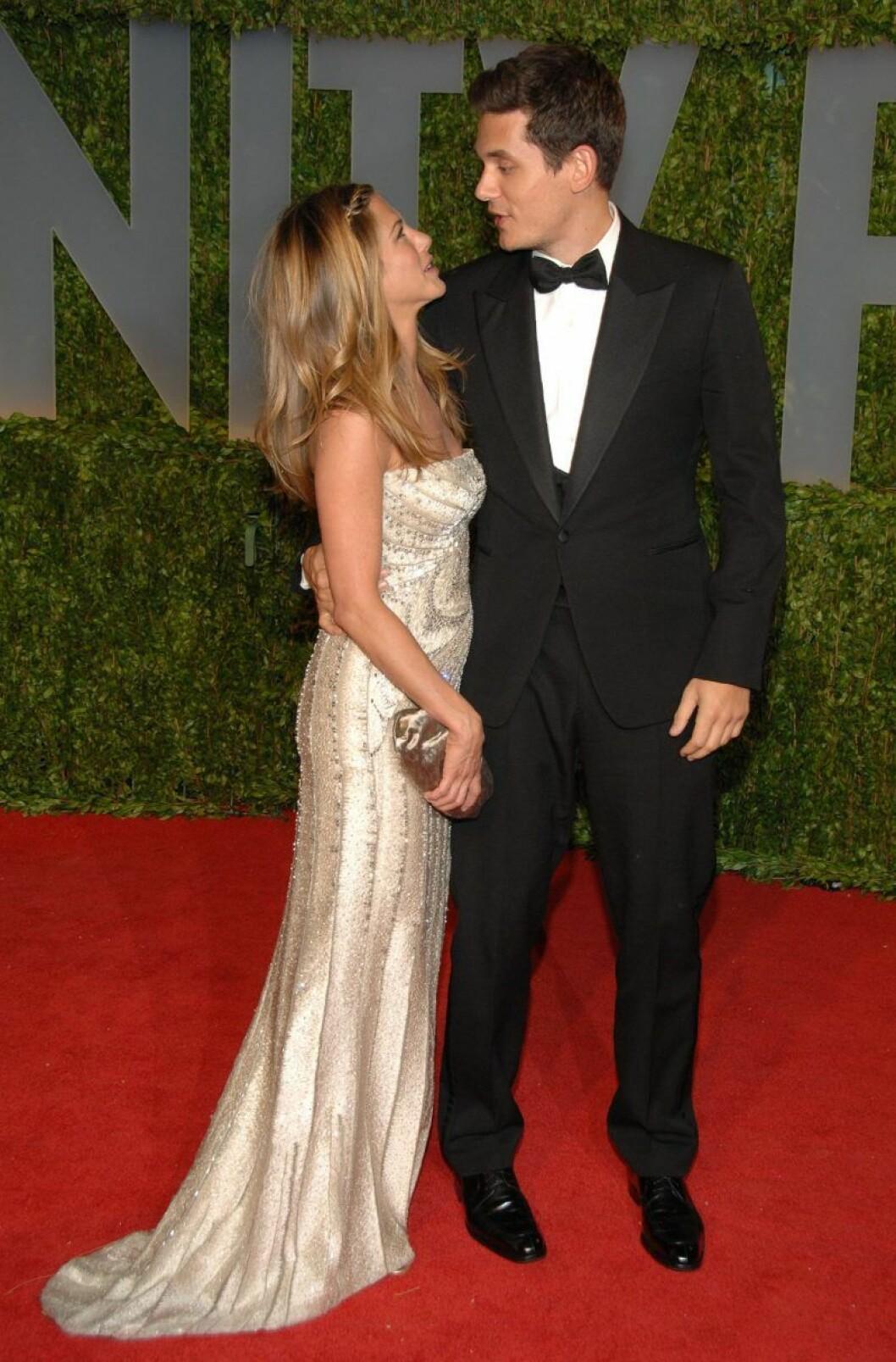 Jennifer Aniston och John Mayer på Oscarsgalan 2009