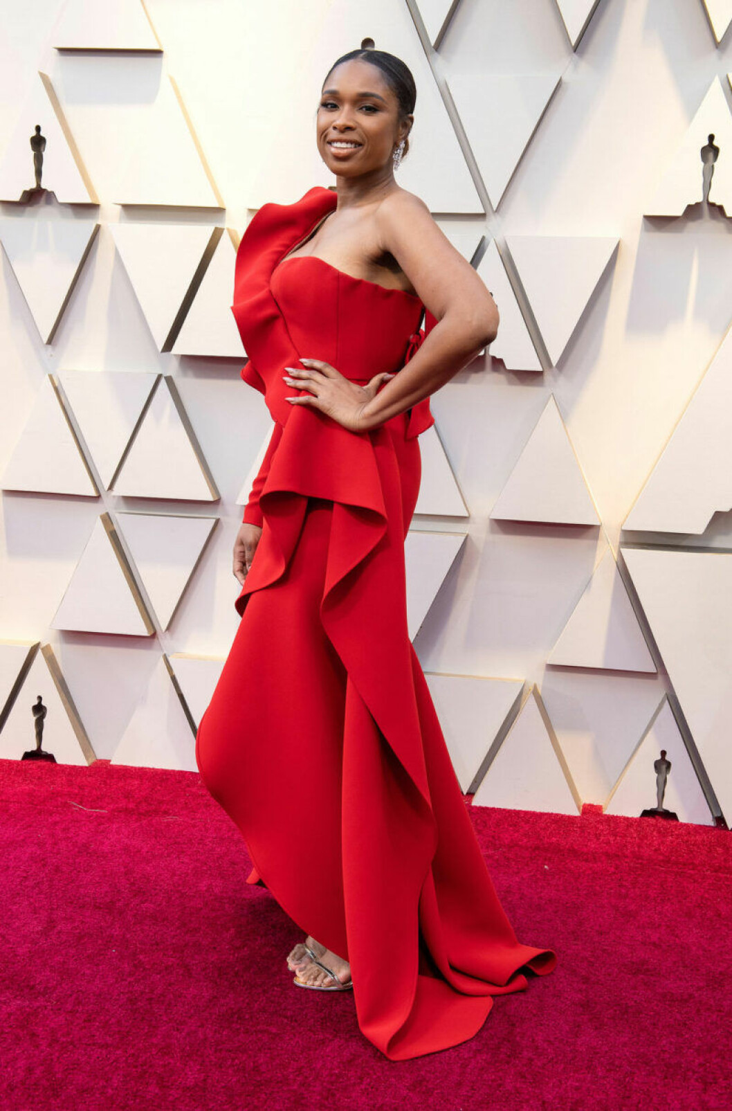 Jennifer Hudson på Oscarsgalan 2019
