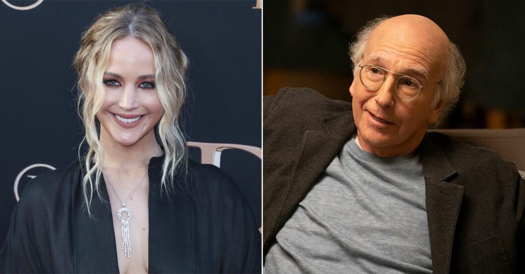 Jennifer Lawrence och Larry David