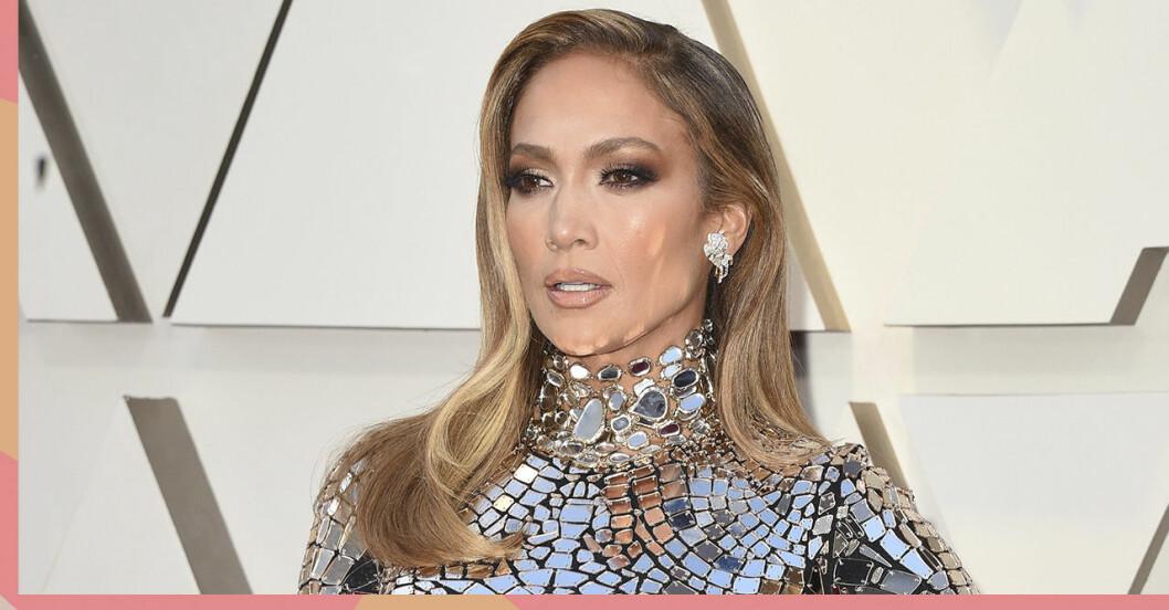 Jennifer Lopez hår