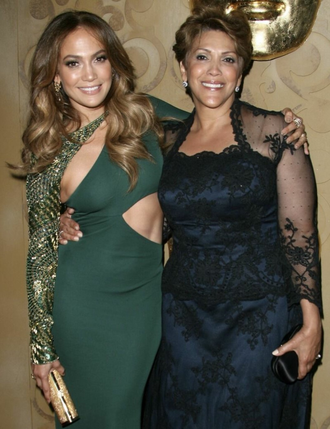 Jennifer Lopez med mamma Guadalupe Rodrigues