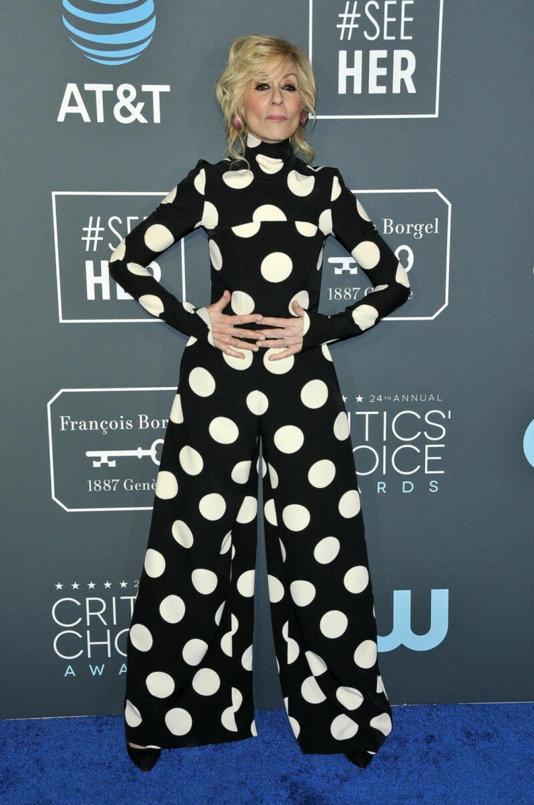 Judith Light på röda mattan på Critics Choice Awards 2019