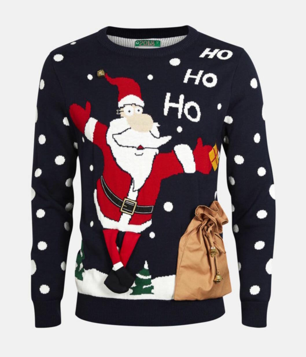 Blå jultröja till julen 2018