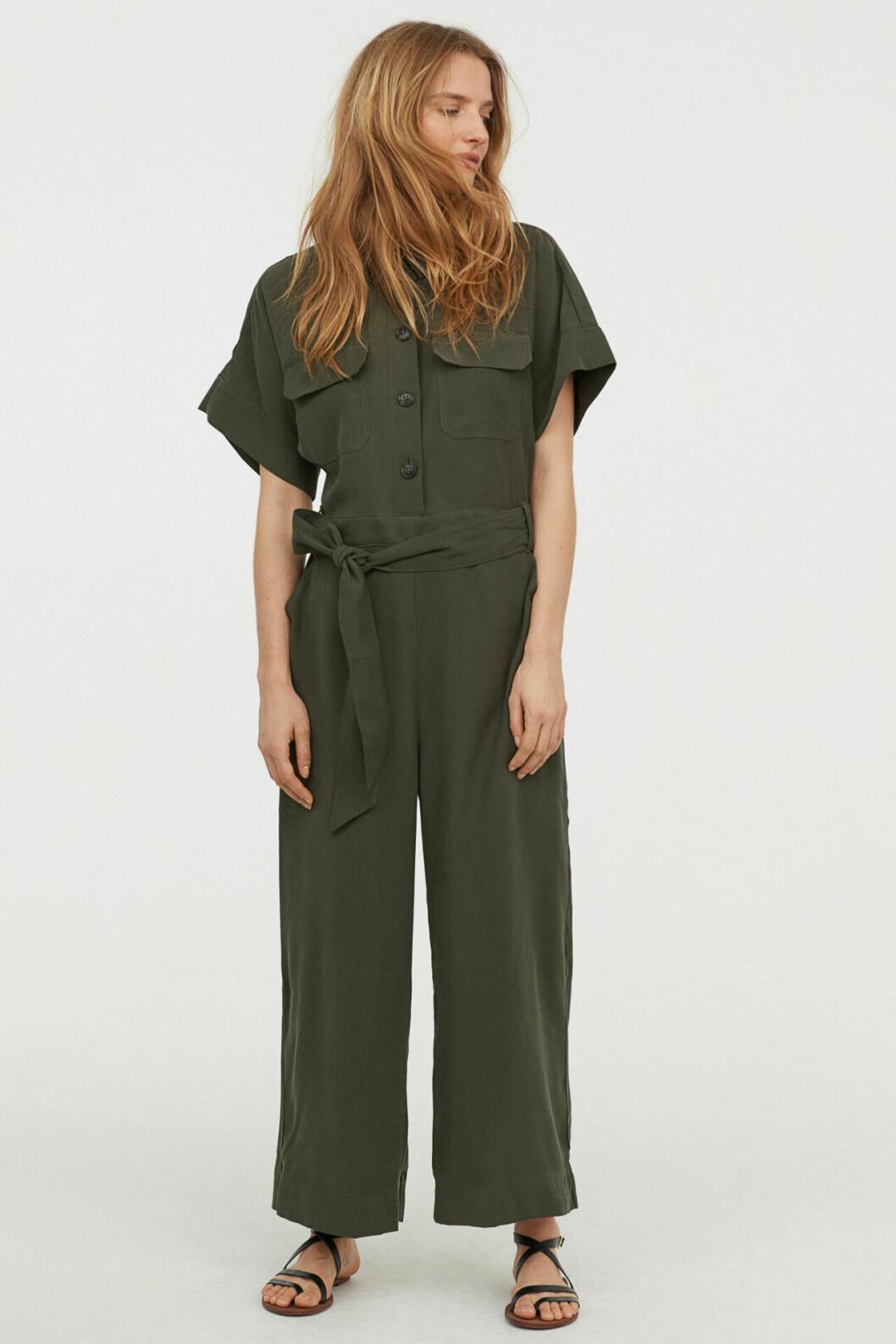 Grön jumpsuit för dam till 2019