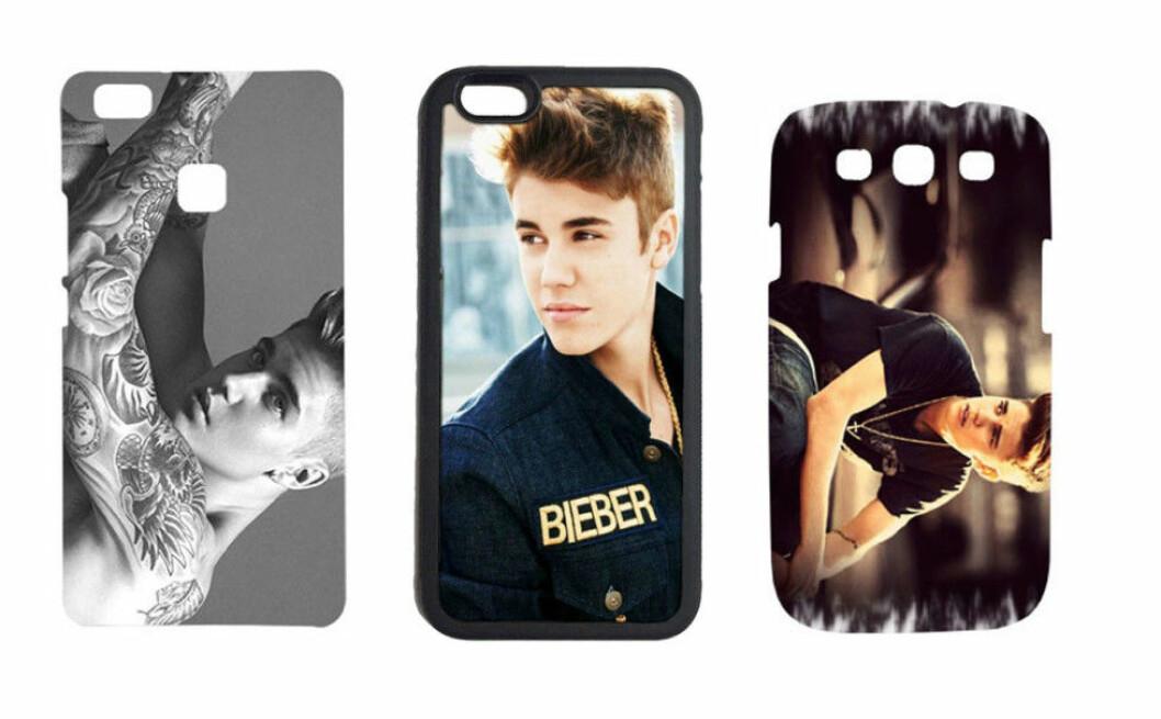 Justin-Bieber-mobilskal
