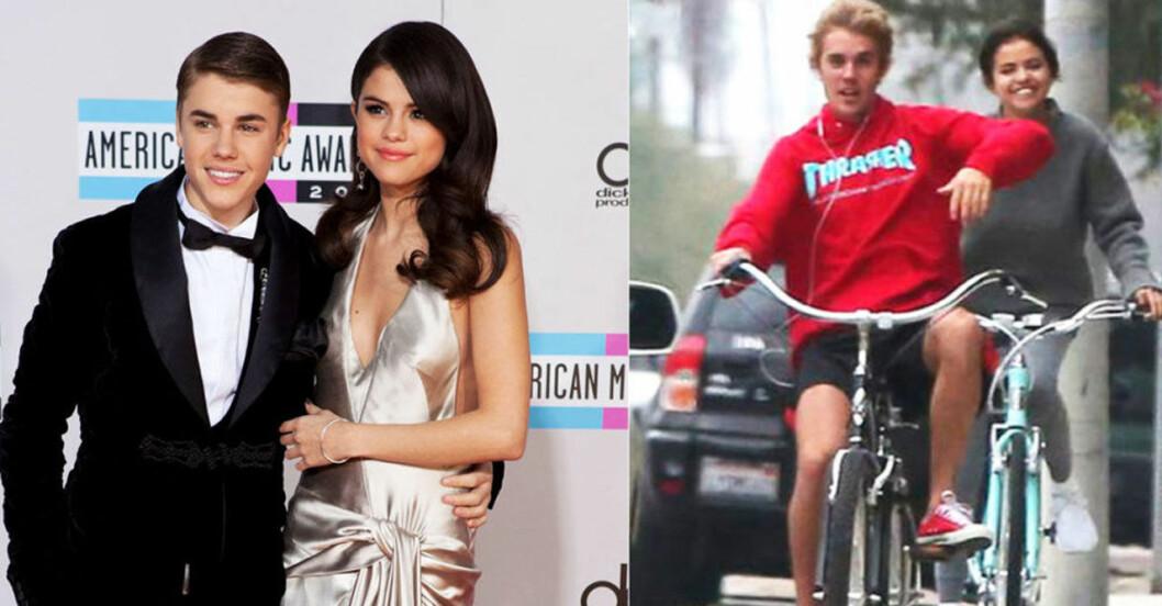 Justin Bieber och Selena Gomez gjorde slut i mars 2018.