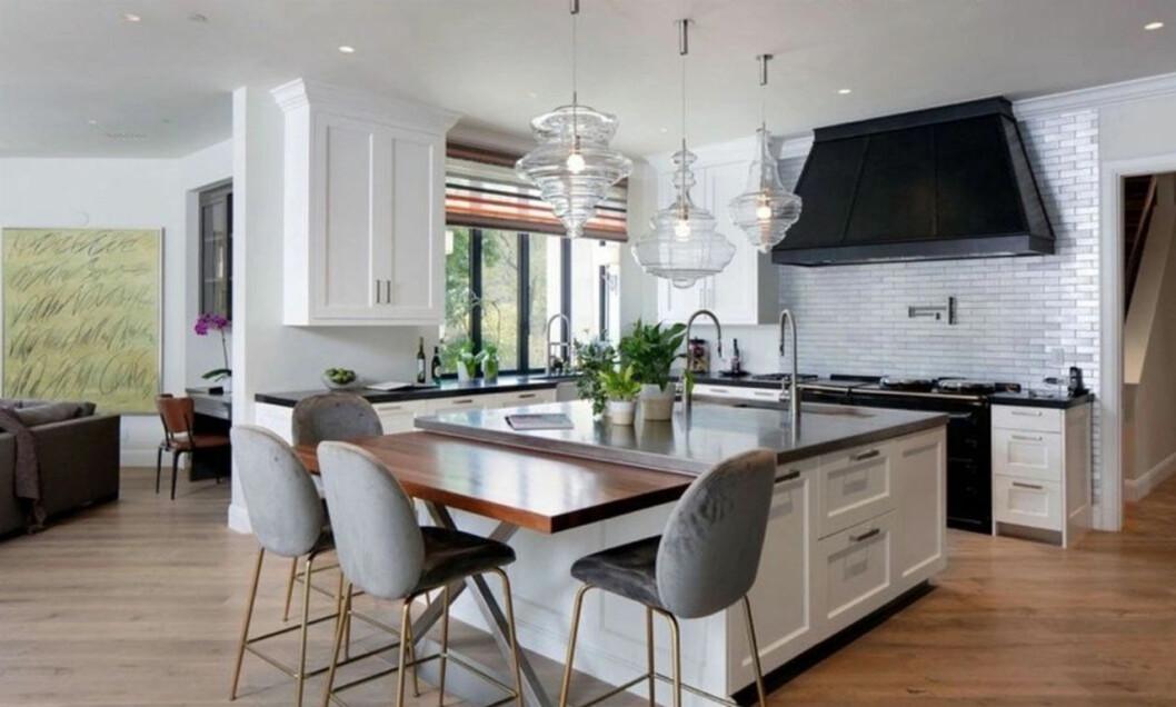 Bild på Justin och Hailey Biebers kök