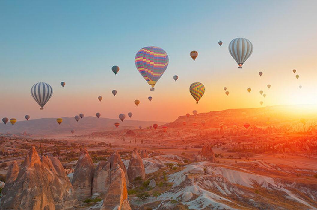 Kappadokien i Turkiet