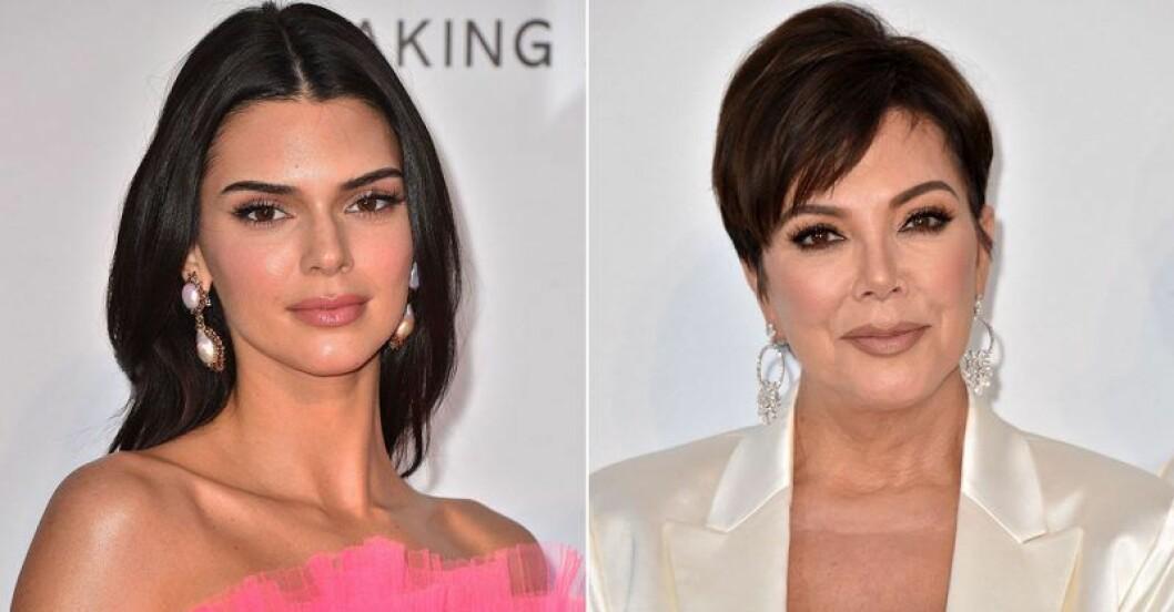 Kendall och mamma Kris Jenner